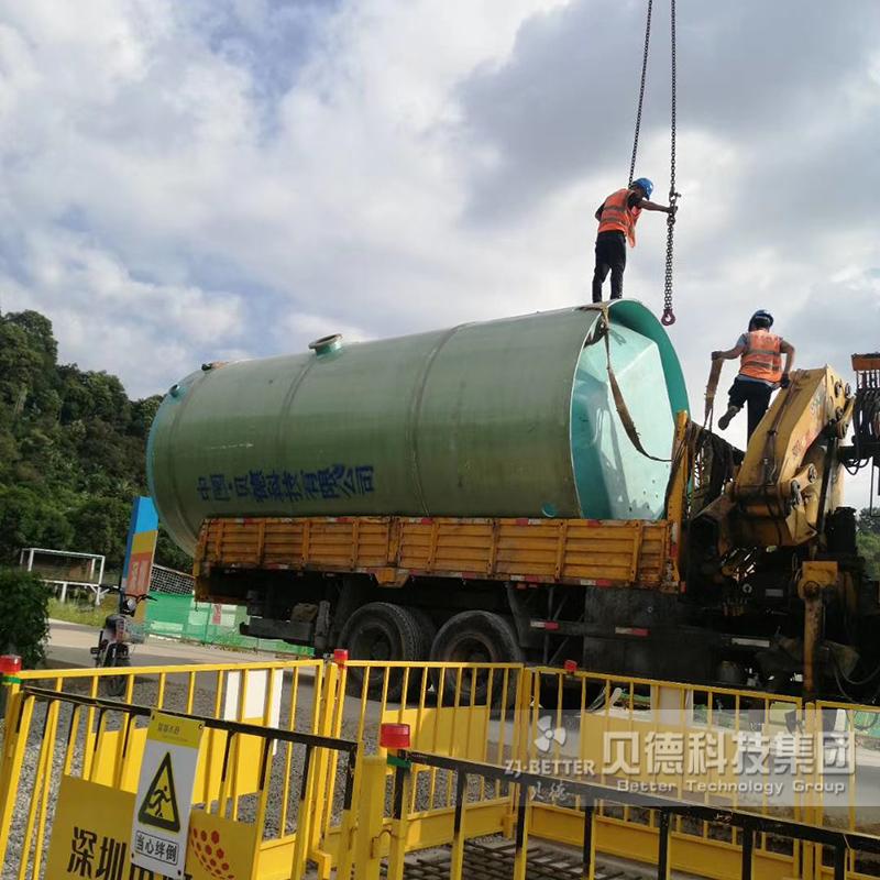 江西南昌一体化泵站项目