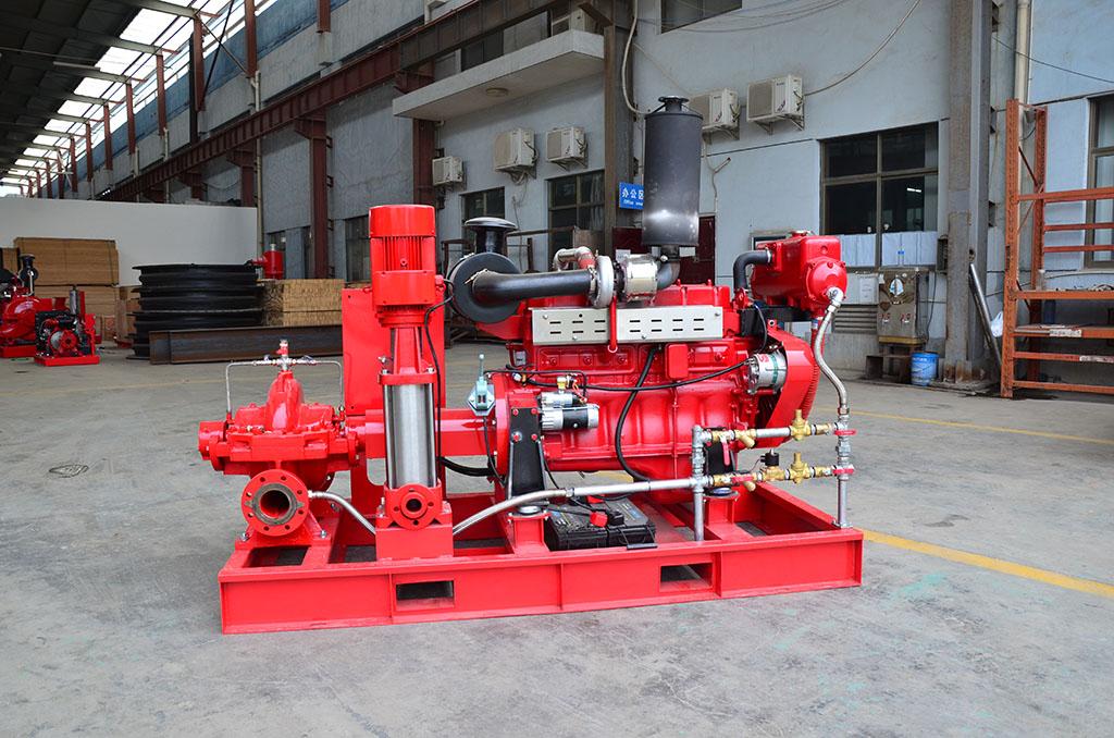 DJ-OTS电动加柴油机双驱动消防泵组