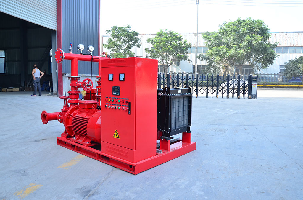 EDJ-ISW双动力消防泵组