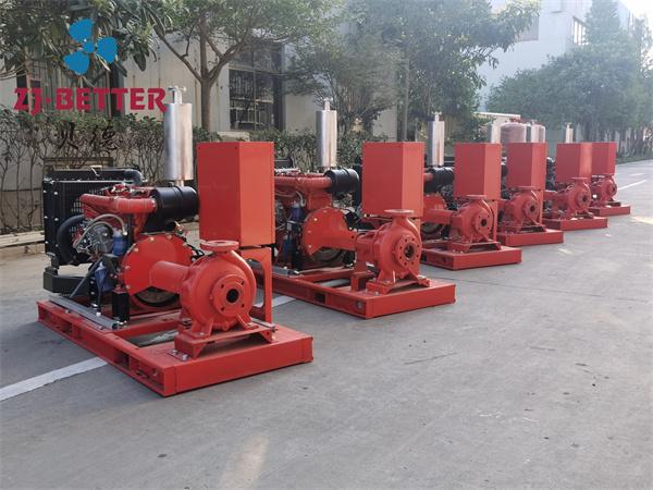 XA柴油机消防泵组