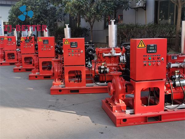 柴油机驱动消防泵
