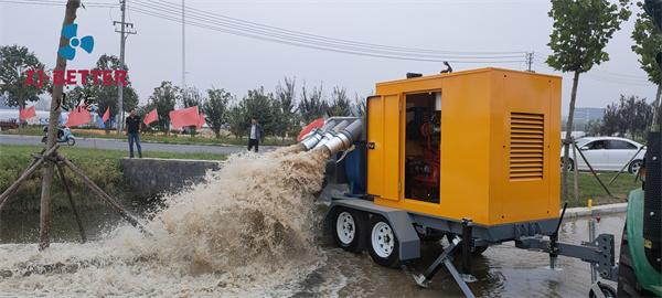 应急排水移动泵车