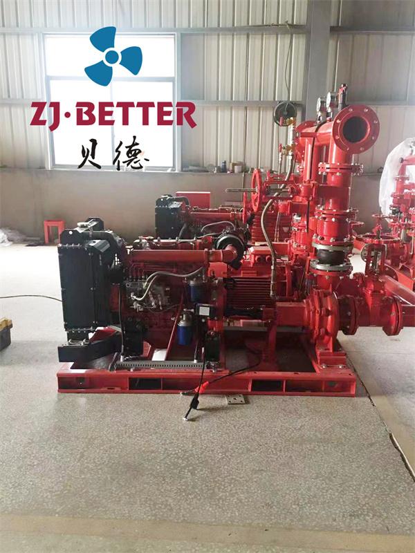 贝德柴油机消防泵组