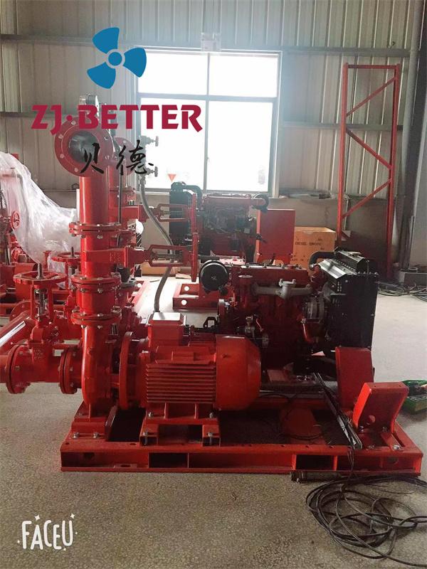 柴油机消防水泵机组